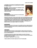 Louis Braille Guided Reading LP + Student Work Packet - Level N