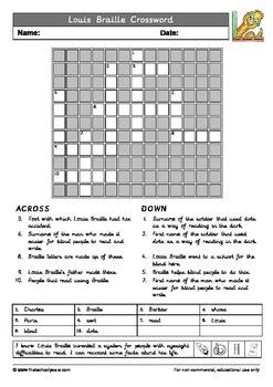 Louis Braille Printables