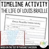Louis Braille Timeline Activity