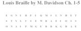 Louis Braille by Margaret Davidson Bundle Vocabulary and Comprehension Kit
