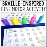Braille Fine Motor Craft Activity