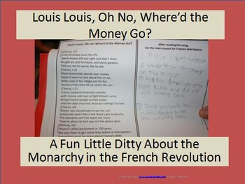 Louis Louis Song about the Monarchy in the French Revolution
