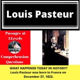 Louis Pasteur Differentiated Passage & Comprehension Quest