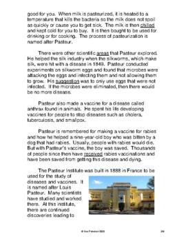 Louis Pasteur - Exploring Pasteurization and Vaccines