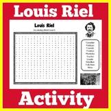 Louis Riel   Manitoba Social Studies History