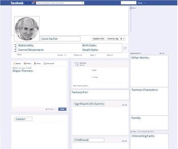 Louis Sachar - Author Study - Profile and Social Media