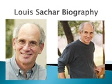 Louis Sachar Biography PowerPoint