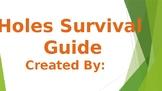 Louis Sachar Holes Project: Camper's Survival Guide