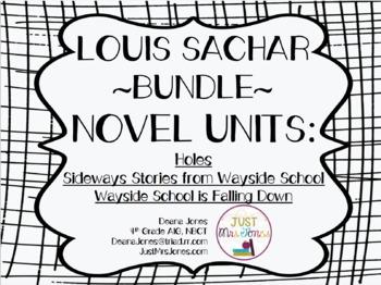 Louis Sachar Novel Unit Bundle