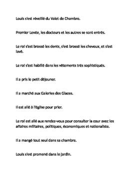 Louis XIV Routine