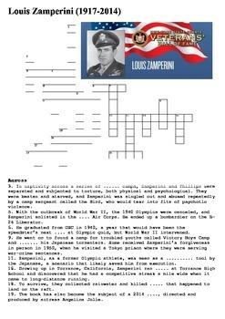 Louis Zamperini Crossword