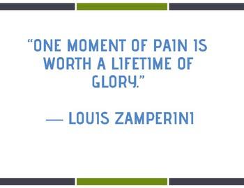 Louis Zamperini Quotes (4 posters)
