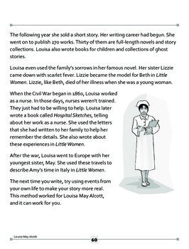 Louisa May Alcott: Writing from Her Life