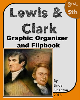 Louisana Purchase and Lewis and Clark Graphic Organizer and Flipbook