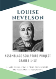Louise Nevelson Assemblage Sculpture
