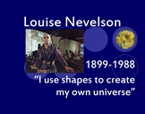 Louise Nevelson Power Point (Assemblage Art and Sculpture)