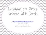 Louisiana 2nd Grade Science GLE Cards