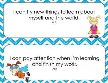 "4-Year-Old ""I Can"" Statements"