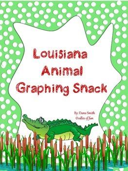 Louisiana Animal Graphing Snack