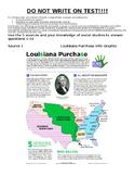 Louisiana Antebellum Era/Louisiana Purchase Test