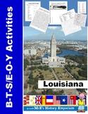 Louisiana B2S/EOS Activities
