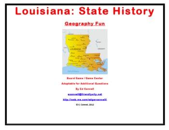 Louisiana Board Game