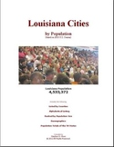 Louisiana Cities by Population