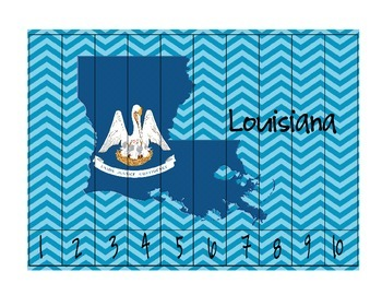 Louisiana Counting Puzzles