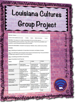 Louisiana Cultures Group Project