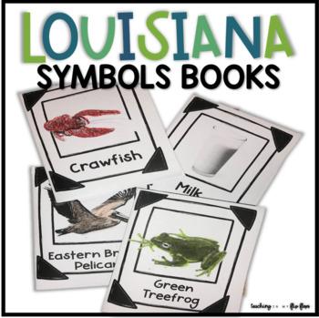 Louisiana Symbols Foldable Books
