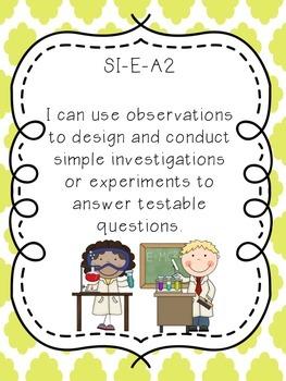 Louisiana GLE Posters Grade 3 Science