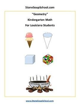 K - Louisiana  - Geometry - Common Core