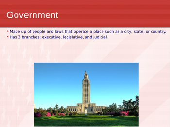 Louisiana Government Power Point
