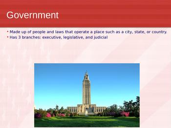 Louisiana Government Power Point
