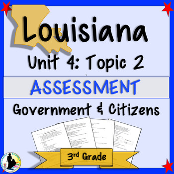 Louisiana Government and Citizenship Test (Assessment)