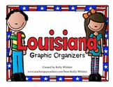 Louisiana Graphic Organizers (Perfect for KWL charts and g