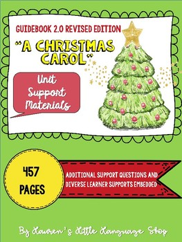 "Louisiana Guidebook 2.0 ""A Christmas Carol"" Unit Workbook"