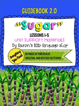 "Louisiana Guidebook 2.0 ""Sugar"" Unit Compatible Student Workbook Lessons 1-5"