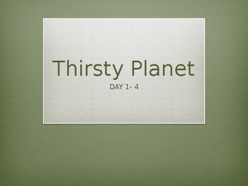 Louisiana Guidebook: Thirsty Planet (Thirsty Planet Unit)