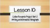 Louisiana Guidebooks 2.0: Unit 1-Cajun Folktales: Lesson 10 PPT (editable)