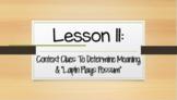 Louisiana Guidebooks 2.0: Unit 1-Cajun Folktales: Lesson 11 PPT (editable)