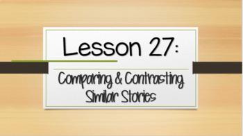Louisiana Guidebooks 2.0: Unit 1-Cajun Folktales: Lesson 27 PPT (editable)