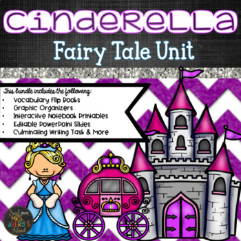 Louisiana Guidebooks 2.0 Fairy Tale Unit:  Cinderella Bundle