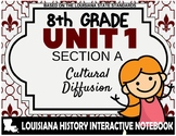Louisiana History - Unit 1A - Cultural Diffusion - 8th Grade
