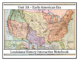 Louisiana History - Unit 3A - Early Territorial Period