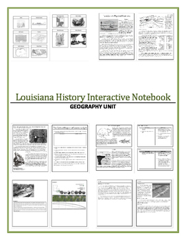 Louisiana History - Geography Bundle