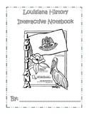 Louisiana History Interactive Notebook