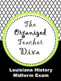 Louisiana History Midterm Test