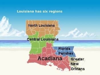 Louisiana History PowerPoint - Part I