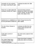 Louisiana History Semester 1 Review